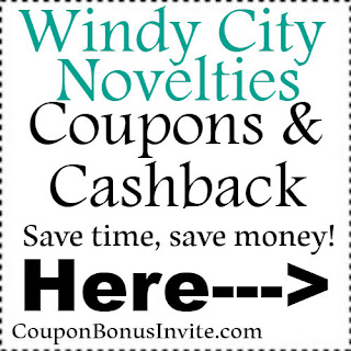 Save $30 at Windy City Novelties with coupon code for 2018-2019| Feb, March, April, May, June, July, Aug, Sep, Oct, Nov, Dec