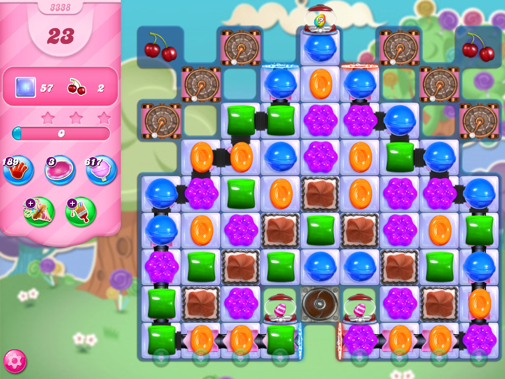 Candy Crush Saga level 3338