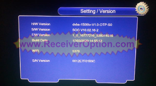 SUPERGOLD SG-6666 1506TV 8MB NEW SOFTWARE WITH ECAST OPTION