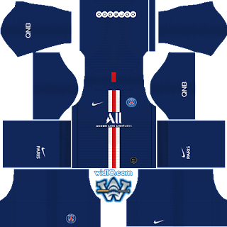 Paris Saint-Germain (PSG) 2018/2019 - Forma (Kits) & Logo Dream