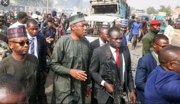 Harin Boko Haram: Zulum Yazargi Manyan Sojoji Dayin Zagon Kasa Bayan Kai Masa Hari Da Yan Ta'adda Sukayi