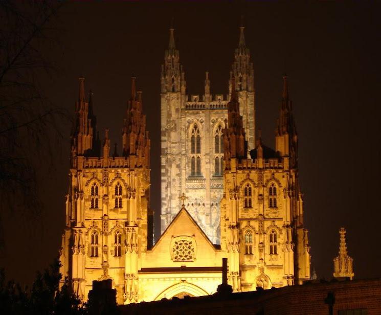 Canterbury pela noite