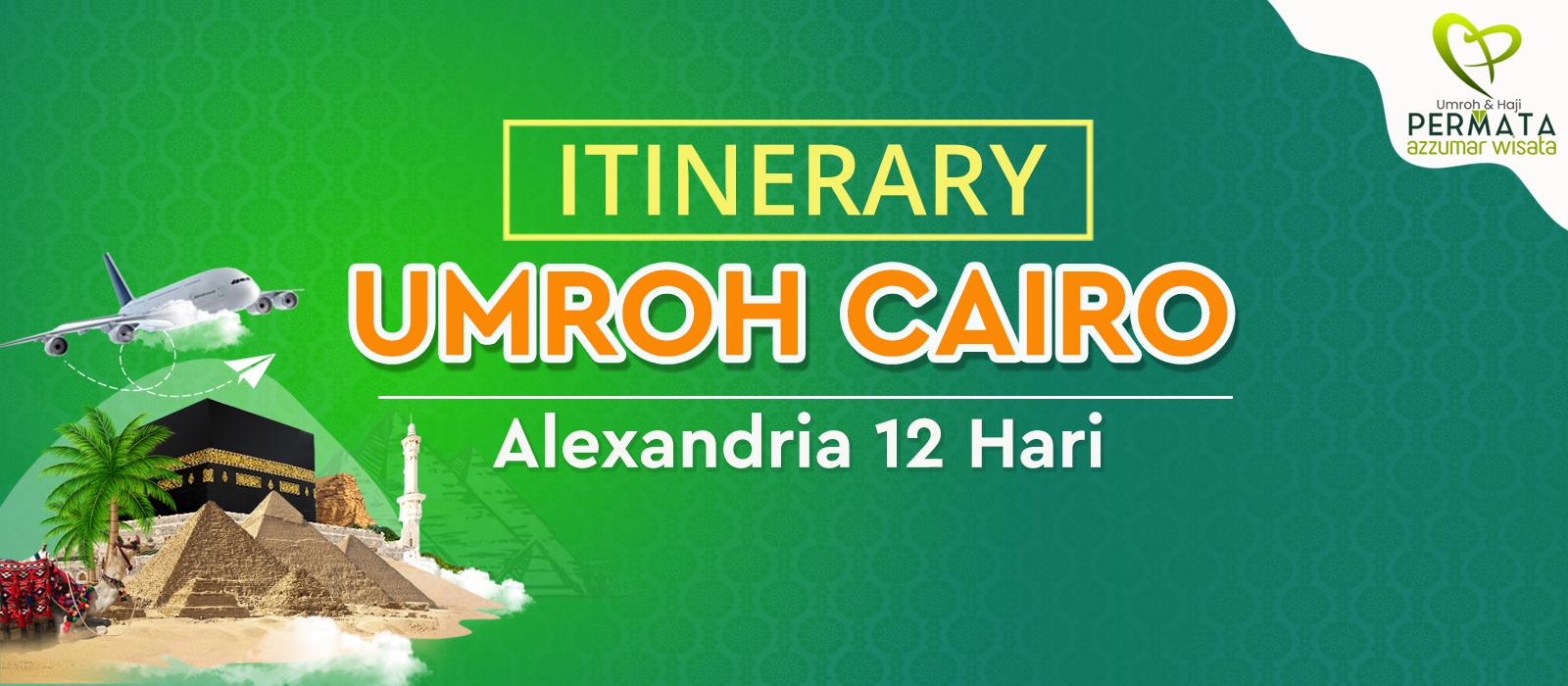 program Umroh plus cairo alexandria 12 hari