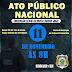 Sindasp-RN convoca Agentes Penitenciários para Ato Público Nacional nesta sexta-feira