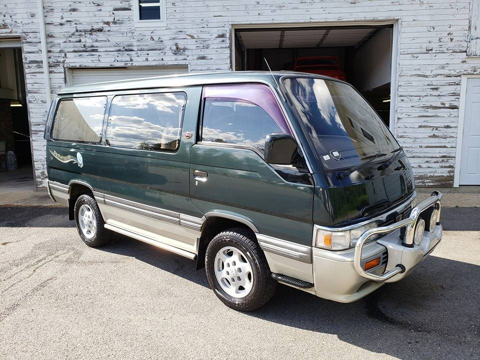 These Words Confuse Me: 1994 Nissan Caravan Homy Autech 4X4 Diesel