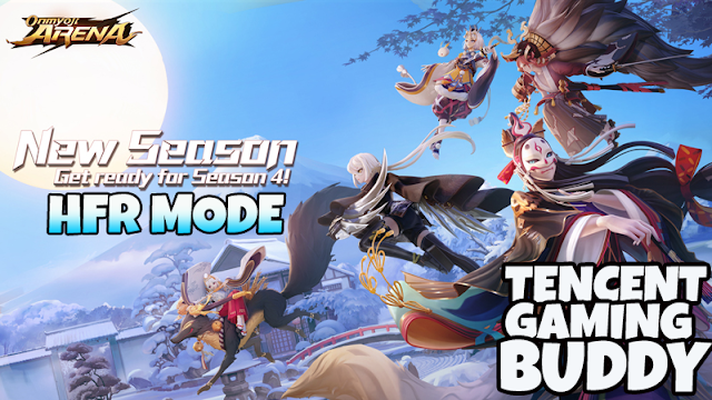 Gameplay Onmyoji Arena di Tencent Gaming Buddy Emulator