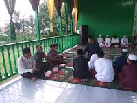 Babinsa Kodim 0910/Malinau Buka Puasa Bersama Warga Desa Binaannya