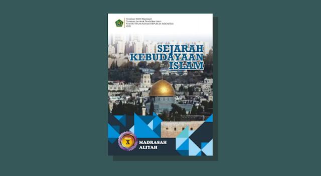Buku SKI Kelas 10 Madrasah Aliyah Kurikulum 2013 Cetakan ke-1 Tahun 2020