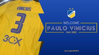 Paulo Vinicius και επίσημα στο ΑΠΟΕΛ