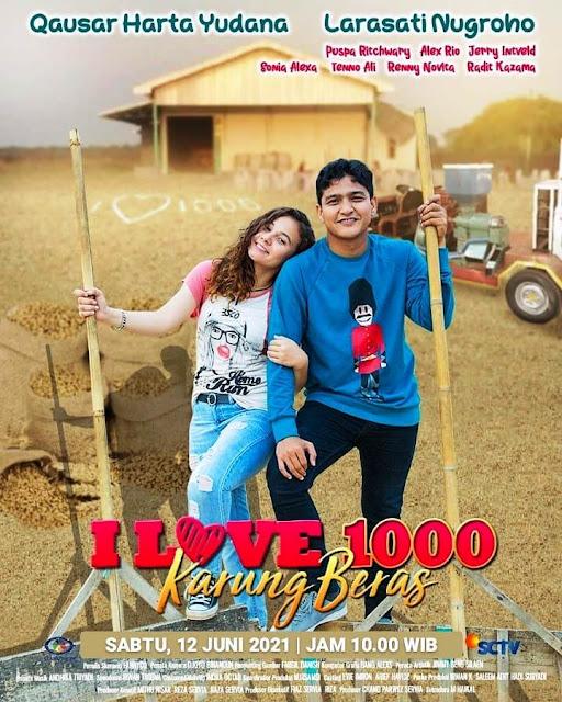Daftar Nama Pemain FTV I Love 1000 Karung Beras SCTV 2021 Lengkap