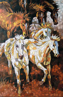 Briosos Caballos Pinturas Artisticas Modernas
