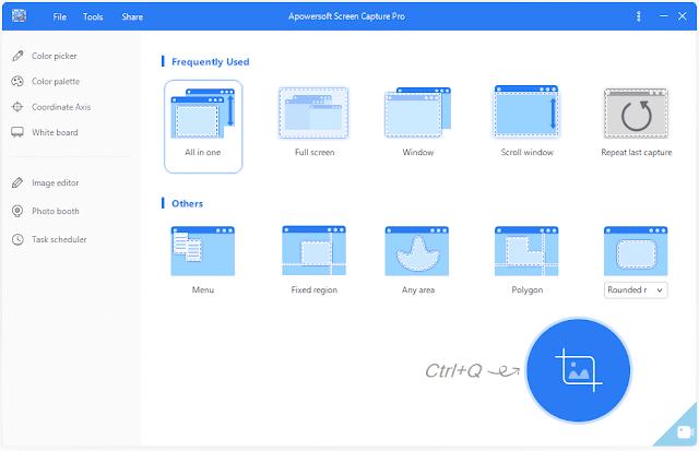 Screenshot Apowersoft Screen Capture Pro 1.4.8.2 Full Version