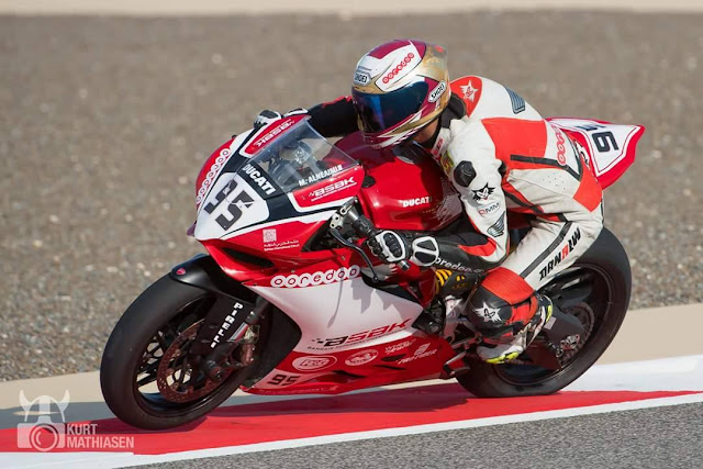 Mashel Al Naimi in control as Bahrain Superbike Championship (BSBK) kicks off.