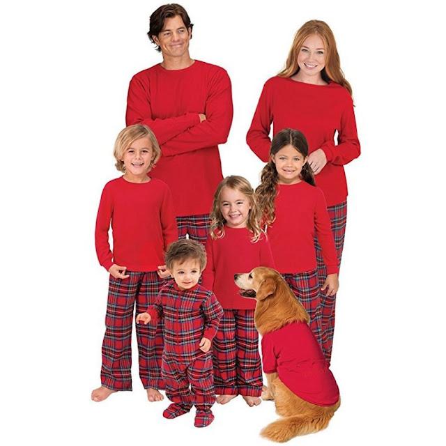 Christmas Plaid Family Pajamas