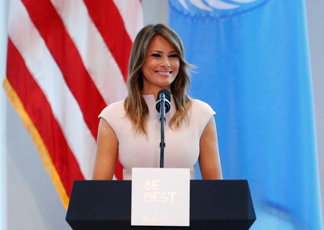 American first lady, Melania Trump had plastic surgery, falsified her age