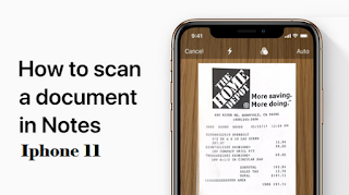 Scan with iphone 11 | How to scan with iphone 11 [Easy and fast]