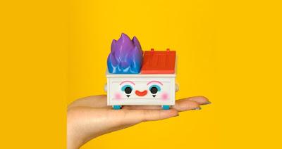Dumpo the Clown Dumpster Fire Vinyl Figure by 100% Soft
