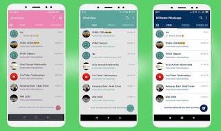 Cara Merubah Tema Whatsapp Original Tanpa Aplikasi