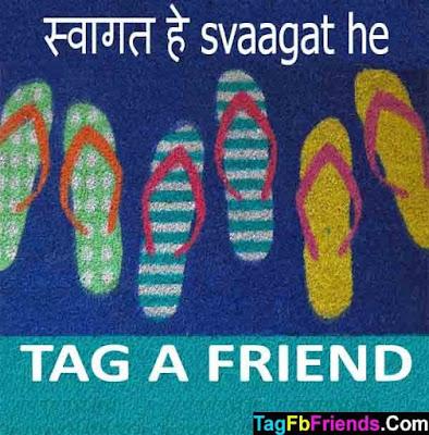 Welcome in Hindi language