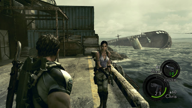 Resident Evil 5 Gold Edition Captura 1