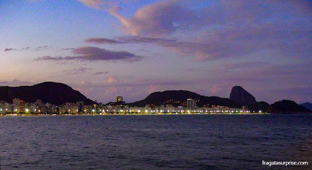 Anoitecer no Forte de Copacabana, Rio de Janeiro