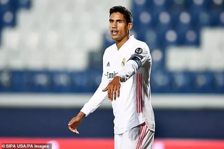 Solskjaer's men 'closing in on Real Madrid defender Varane'