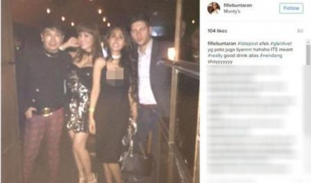Ratu Meta Meminta Maaf Terkait Photo Pu*ing Payudaranya Yang Menyembul