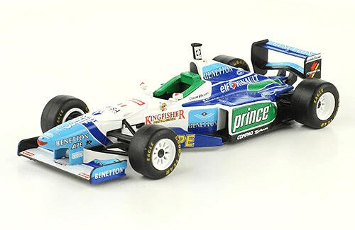 Benetton B196 1996 Jean Alesi f1 the car collection
