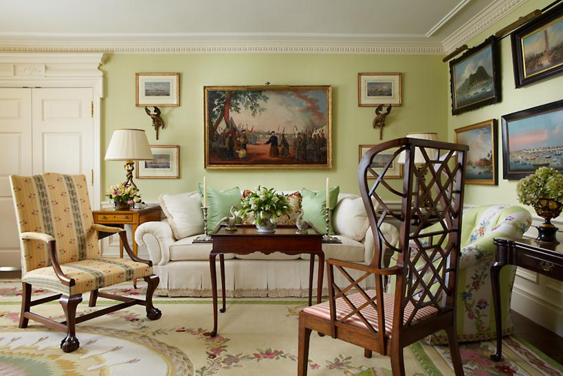Glamorous Spaces Stately Homes Palm Beach Chic With
