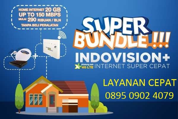 Cara Daftar Promo Indovision Internet 4G LTE Super Cepat