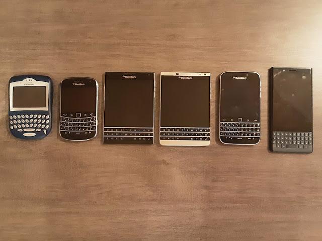 """""""بلاك بيري"""" يودع عالم الهواتف الذكية"""