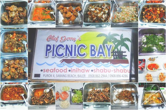 Picnic Bay by Gerry Shan restaurant in Baler