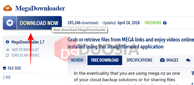 Cara Download di MEGA dengan Aplikasi Mega