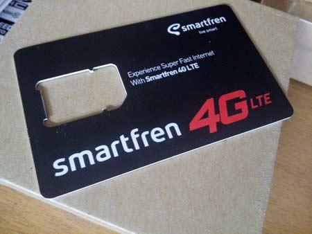 Pengalaman Upgrade Kartu 4G LTE Smartfren