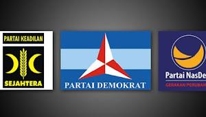 Oposisi PKS-Nasdem-Demokrat