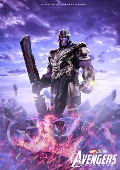 Thanos en Vengadores Endgame