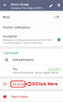 how to delete whatsapp group completely