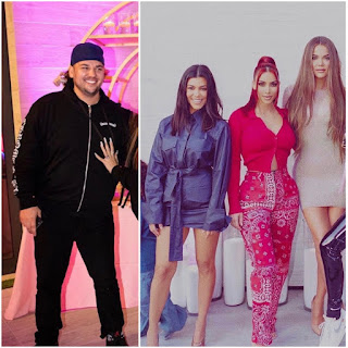 How the Kardashian sisters feels about Rob Kardashian dating Instagram model Aileen Gisselle