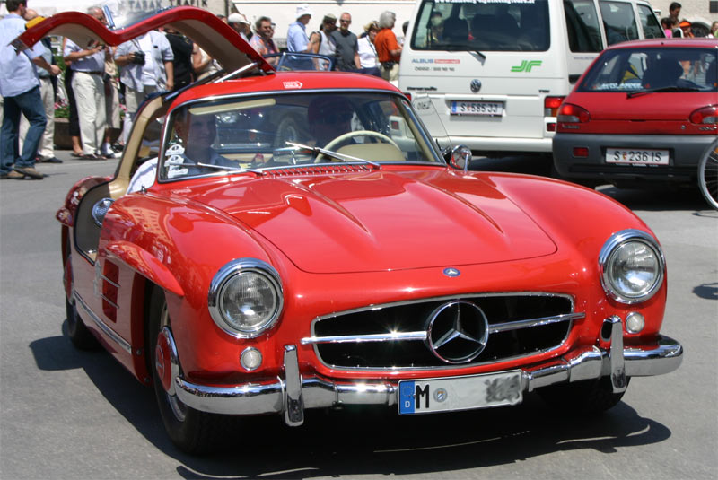 Mercedez Benz 300SL Gullwing : Autoshow