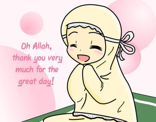 Kumpulan Gambar Islam Gambar Kartun Anak Kecil Berdoa