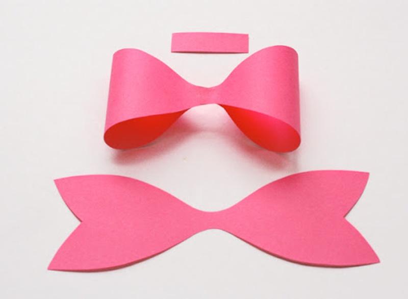 Como fazer um laço de papel
