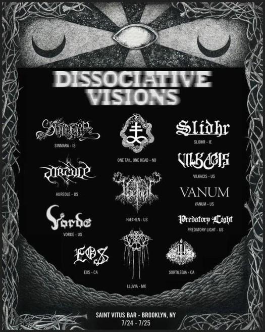 Metal Bandcamp: Black metal roundup: Dissociative Visions