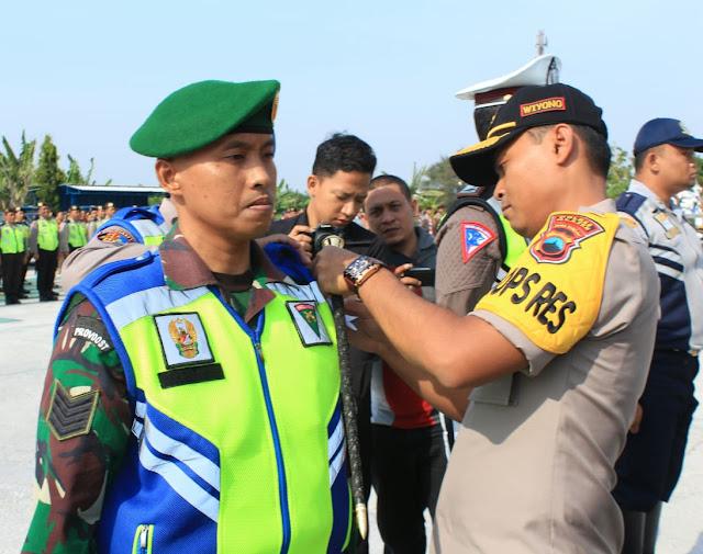 Personel Kodim Klaten Ikut Apel Gelar Pasukan Operasi Zebra Candi 2019