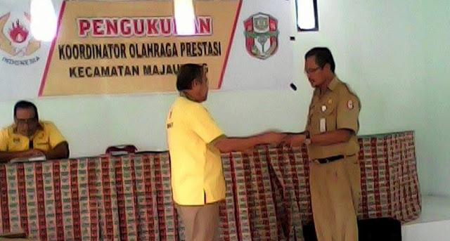 Bertekad Raih Prestasi Gemilang, KONI Wajo Bentuk Koordinator Hingga ke Desa
