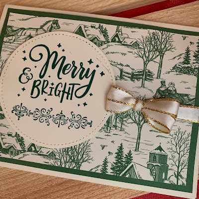 Christmas Card idea using Everything Festive Stamp Set from Stampin' Up!