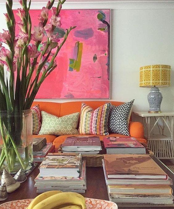 ON FLEEK / Pink & Orange Steal the Show – BoHo Home