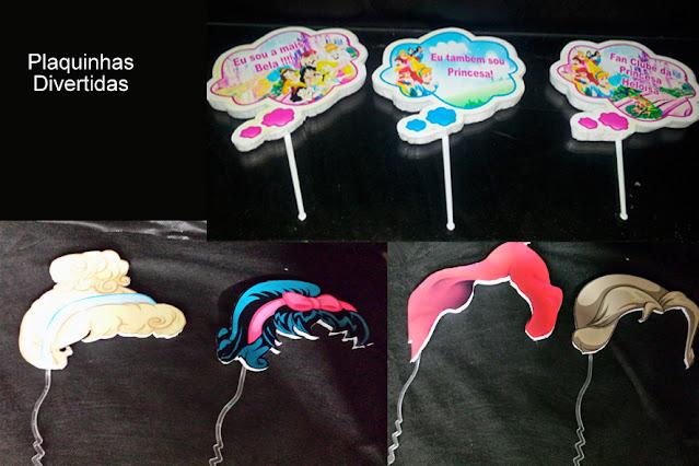 Paquinhas Divertidas As Princesas  Disney dicas e ideias para decoração de festa personalizados