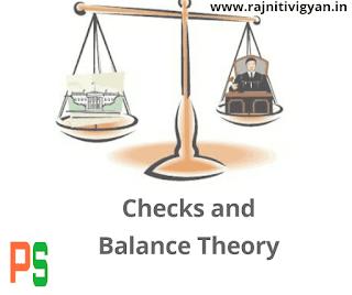 नियंत्रण और संतुलन का सिद्धांत, niyntran avm santulan siddhant