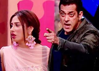 Salman Khan angry on Madhurima