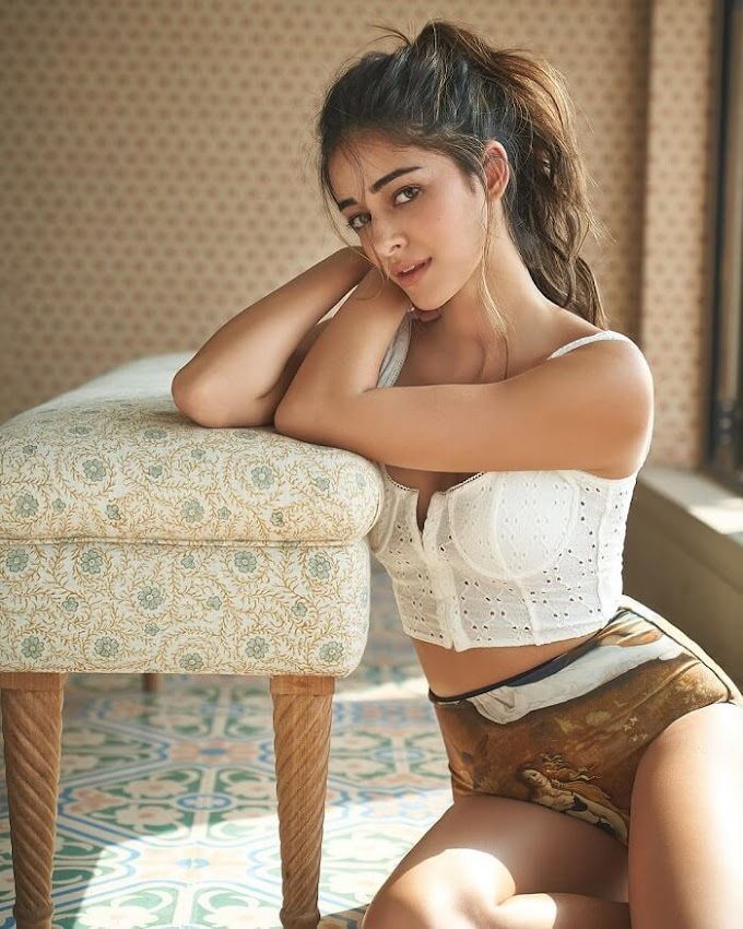 Ananya Panday Hot Pics Stills From Liger Movie Shooting